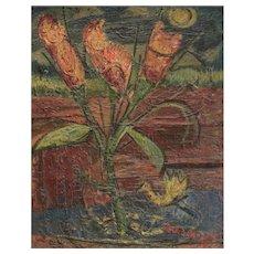 Nahum Tschacbasov (Russian/American, 1899-1984) Impasto Oil Painting