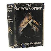 W. Somerset Maugham 'The Narrow Corner' William Heineman, 1932. 1st Ed DJ