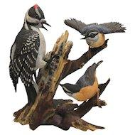 Lorenz Hutschenreuther Friendly Enemies Bird Figurine Ltd Edition No. 103 of 600