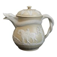 Glazed Staffordshire Stoneware Caneware 18-19th century possibly Wedgwood
