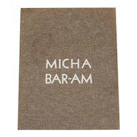 Micha Baram Folio 10 Gelatin Silver Prints Limited Edition 69/300 suites, signed