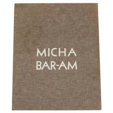 Micha Baram Folio 10 Gelatin Silver Prints Limited Edition 69/300 suites, signed