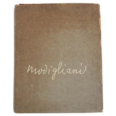 Forty-Five Drawings by Modigliani, intro by Lamberto Vitali Grove Press 1959