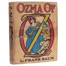 L. Frank Baum; John Neill [illus] 'Ozma of Oz' The Reilly Britton Co 1st Ed 1907