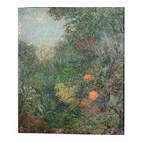 Harry Lachman American 1886 - 1975 Landscape Oil painting Verdure, Cote D'Azure