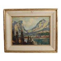 Vernon Jay Morse Landscape Oil Painting
