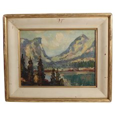 Vernon Jay Morse Landscape Oil Painting