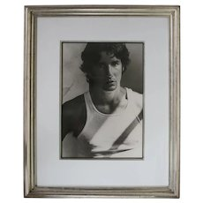Herb Ritts Richard Gere Silver Gelatin Blk Wht Photograph signed