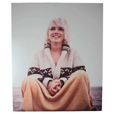 George Barris, Color Photograph Marilyn Monroe Santa Monica 1962 Signed