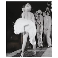 George Barris Black & White Photograph Marilyn Monroe Seven Year Itch 8x10