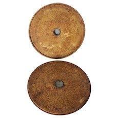 19th century Chinese Hardwood Loupan Feng Shui Compass