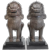 Pair of Thai Singha Guardian Lions in Bronze