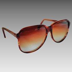 Vintage 80's Serengeti Sunglasses Simba Species Tortoise Made in USA