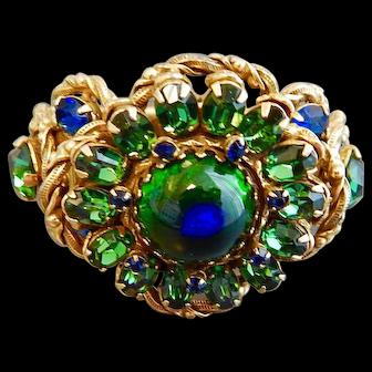 Alice Caviness Vintage Peacock Eye Bracelet