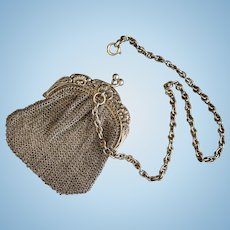 Little purse with chatelaine for your doll - Circa 1900