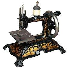 Antique cast iron Toy sewing machine - Muller 15 - Circa 1900