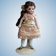 "4.3""  French type all bisque mignonette doll"