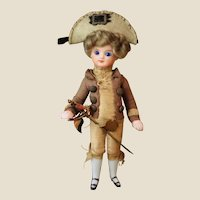 "All original French mignonette in ""Gentilhomme"" costume"