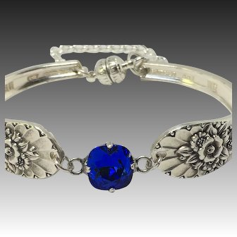 Handcrafted Silver Plated Spoon Bracelet