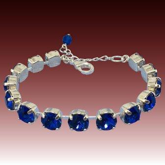 Handcrafted Bracelet Made w/ Swarovski Crystals