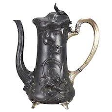 Art Nouveau WMF Coffee Pot Jugendstil Tea Coffee Pot