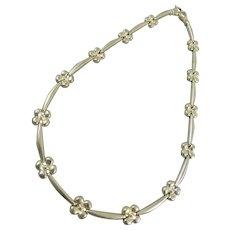 Sterling Silver Milor Necklace
