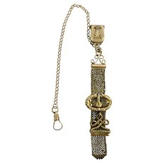 Victorian Watch Fob with Chain, S.O.B.& Co.
