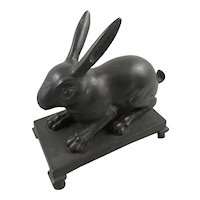 Bronze Roman Replica Rabbit