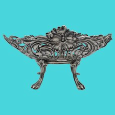Unger Brothers Sterling Silver Footed Dish