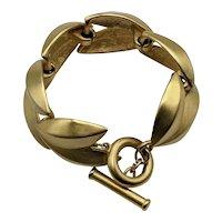 Vintage Givenchy Gold Tone Bracelet, Signed