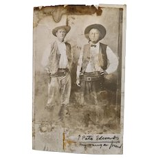 Original Photo-Rangers/Cowboys