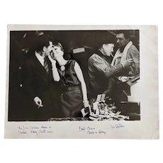 Original Photo by Henry Clarke 1961 : Audrey Hepburn at Les Halles for Vogue Magazine