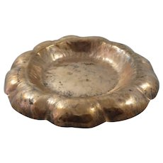 Frost Studios Arts and Crafts Workshops Hand Hammered Copper Dish