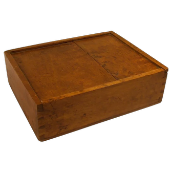 19 Century Scandinavian Swedish cash box / document box for soldiers or farmer .