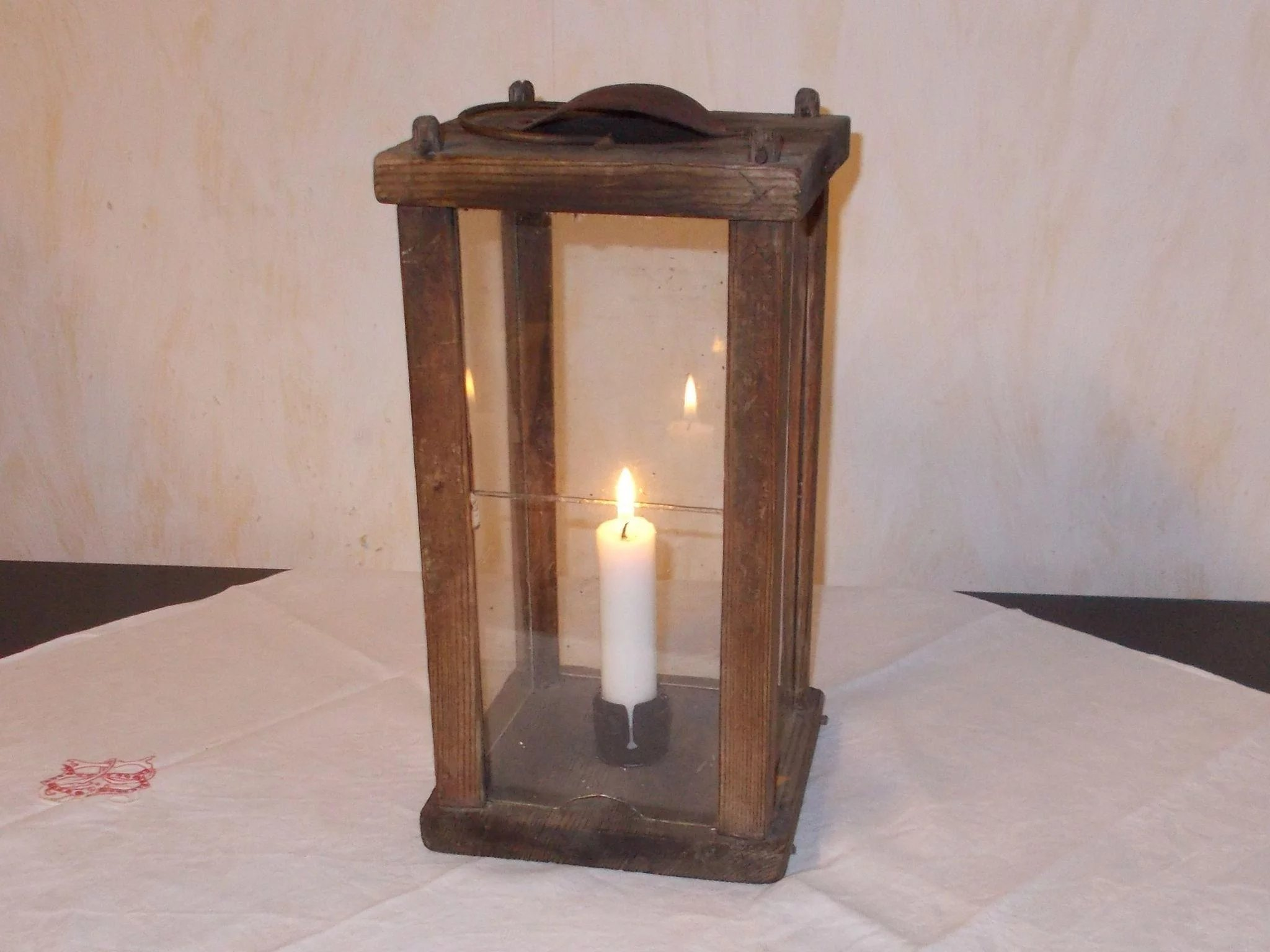 Antique 19 century Swedish barn / stable four sided wood ...