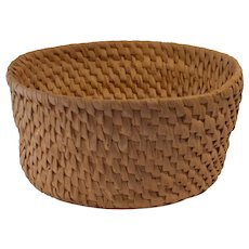 Old Swedish cheese form root basket hand made