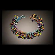 Anodized Aluminum Spring Bracelets
