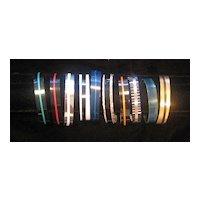 Anodized Aluminum Cuff Bracelets Thin