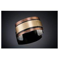 Anodized Aluminum Medium Cuff Bracelets