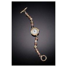 Anodized Aluminum Beaded Watches