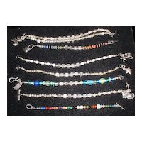 Mom's Bracelet in Sterling Silver, Gold-Filled, Gemstones, Crystals, or Any Style