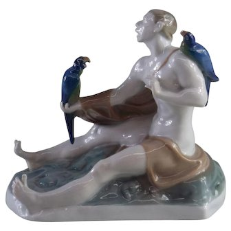 "1922 Rosenthal ""Latein"" Figurine"