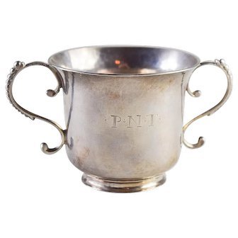 George III Channel Island Silver Christening Cup