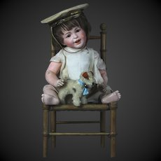 """My little Navy boy French doll SFBJ 236 """"Laughing Jumeau"""" character 14"""""""