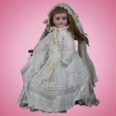 Antique German bisque ORIGINAL BRIDE 17.7 inch doll, Model 1078 by Simon and Halbig