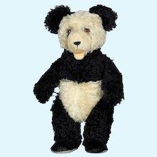 "LARGEST sized 19.7"" Steiff Panda Teddy Bear vintage: 1951 to 1961"