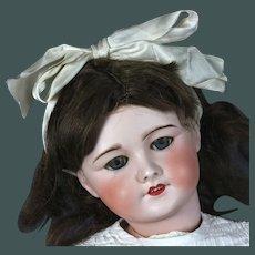 "Gorgeous 23,5"" Unis France 301 Bebe antique bisque Doll big sister of Bleuette"