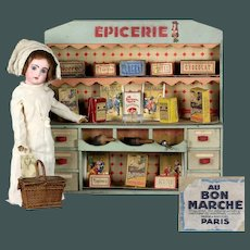 *Wonderful* totally original French Parisian Epicerie Magasin AU BON MARCHÉ