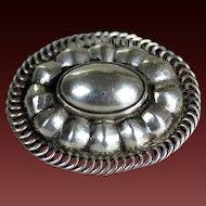 Sterling silver brooch Georg Jensen 925 sterling silver Denmark