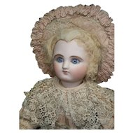 """21""""Spectacular rarest antique earlier FRENCH bebe Steiner A-3 bourgoin series, palest face... a  dream!"""